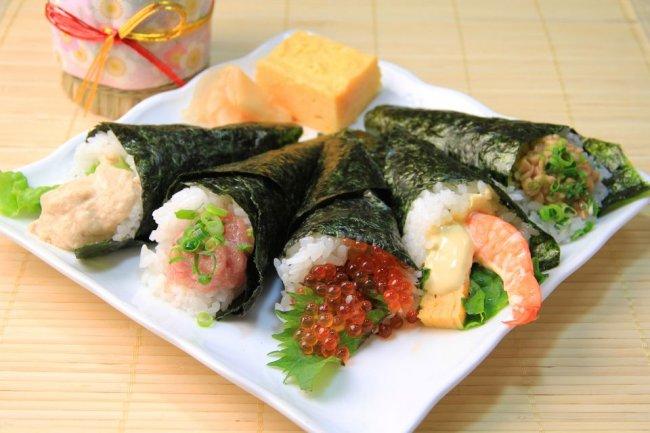 Cómo hacer Temaki Sushi