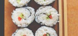 Receta de sushi vegetal